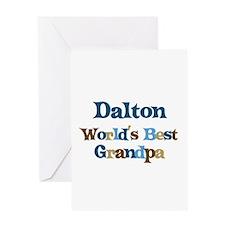 Dalton - Best Grandpa Greeting Card