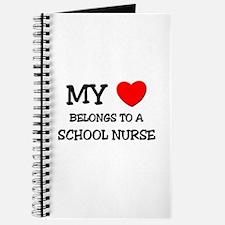 My Heart Belongs To A SCHOOL NURSE Journal
