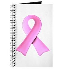 3D Pink Ribbon Journal