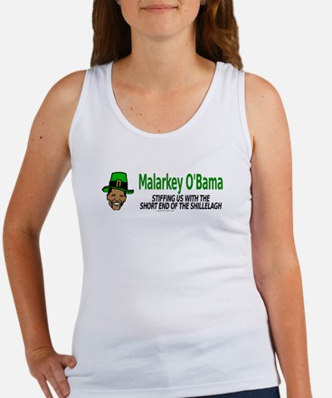 Malarkey O'Bama Women's Tank Top