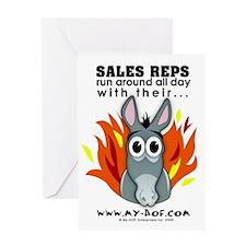 Sales Reps Greeting Card