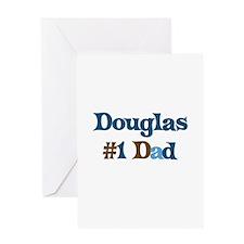 Douglas - #1 Dad Greeting Card