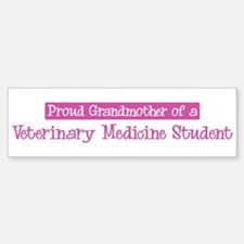Grandmother of a Veterinary M Bumper Bumper Bumper Sticker