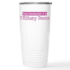 Grandmother of a US Military Travel Mug