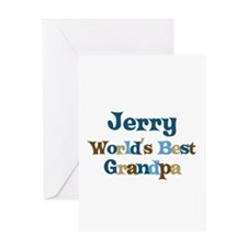 Jerry - Best Grandpa Greeting Card