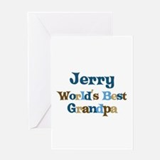 Jerry - Best Grandpa Greeting Card