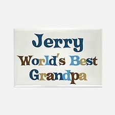 Jerry - Best Grandpa Rectangle Magnet