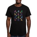 Minature Pinscher Designer Men's Fitted T-Shirt (d