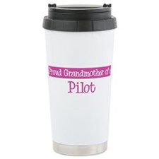 Grandmother of a Pilot Travel Mug