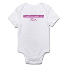 Grandmother of a Pilot Infant Bodysuit