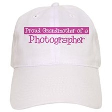 Grandmother of a Photographer Baseball Cap