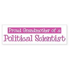 Grandmother of a Political Sc Bumper Bumper Sticker