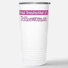 Grandmother of a Policewoman Travel Mug