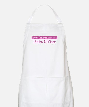 Grandmother of a Police Offic BBQ Apron
