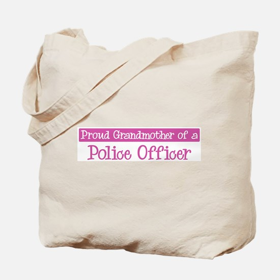 Grandmother of a Police Offic Tote Bag