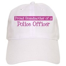 Grandmother of a Police Offic Baseball Cap