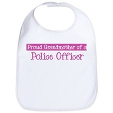 Grandmother of a Police Offic Bib