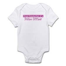 Grandmother of a Police Offic Infant Bodysuit