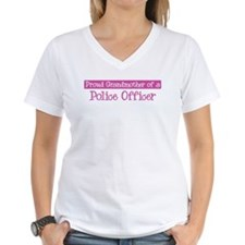 Grandmother of a Police Offic Shirt
