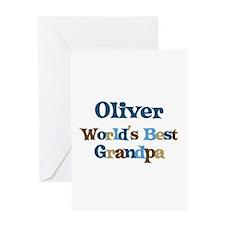 Oliver - Best Grandpa Greeting Card