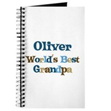Oliver - Best Grandpa Journal
