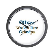 Oliver - Best Grandpa Wall Clock
