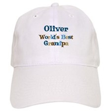 Oliver - Best Grandpa Baseball Cap