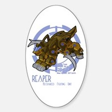 Reaper Oval Decal
