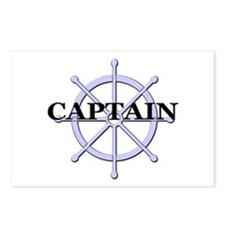 Captain Ship Wheel Postcards (Package of 8)