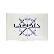 Captain Ship Wheel Rectangle Magnet (100 pack)