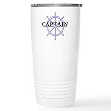 Captain Ship Wheel Travel Mug