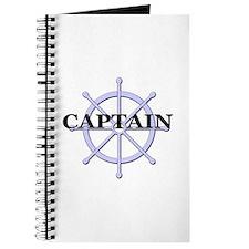 Captain Ship Wheel Journal