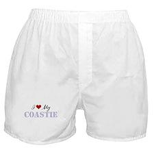 I Love My Coastie Boxer Shorts