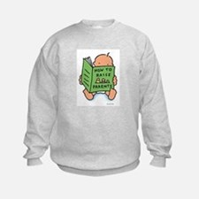 raising parents (light) kids sweatshirt