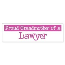 Grandmother of a Lawyer Bumper Stickers