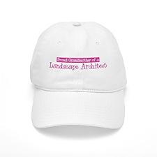 Grandmother of a Landscape Ar Baseball Cap
