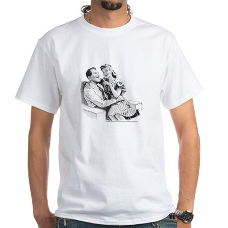 """Connie & """"Bob"""" White T-Shirt"""