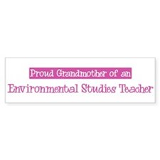 Grandmother of a Environmenta Bumper Bumper Sticker