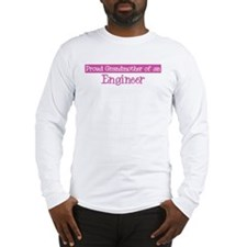 Grandmother of a Engineer Long Sleeve T-Shirt
