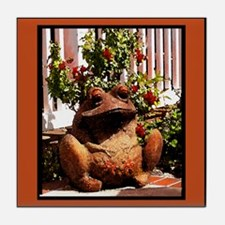 Bermuda Frog Tile Coaster