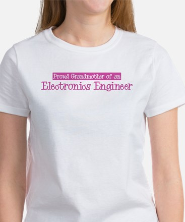 Grandmother of a Electronics Women's T-Shirt