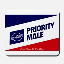 Priority Male Mousepad