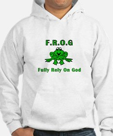 F.R.O.G. - Fully Rely on God Hoodie