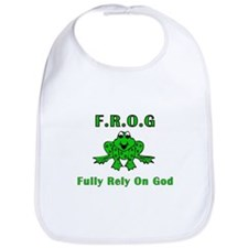 F.R.O.G. - Fully Rely on God Bib