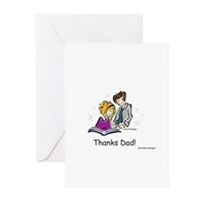 Thanks Dad! Greeting Cards (Pk of 10)