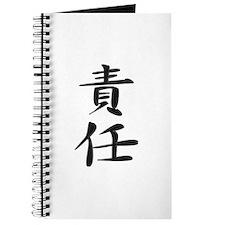 Responsibility - Kanji Symbol Journal