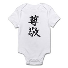 Respect - Kanji Symbol Infant Bodysuit