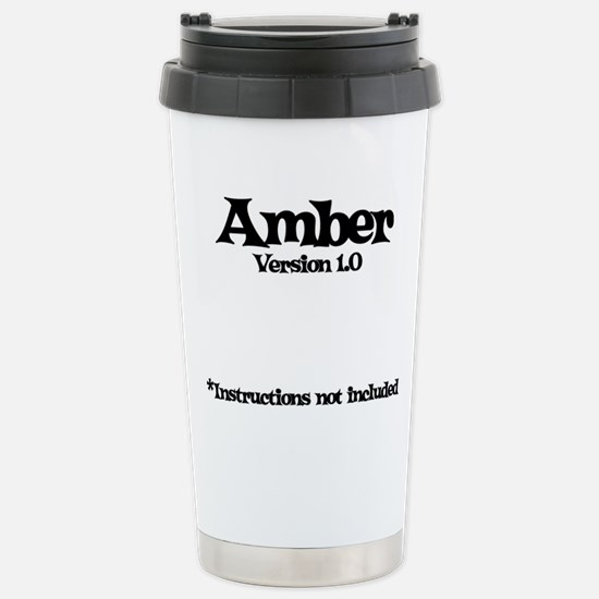 Amber Version 1.0 Stainless Steel Travel Mug