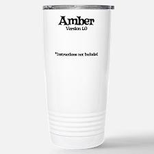 Amber Version 1.0 Travel Mug