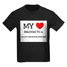 My Heart Belongs To A QUALITY ASSURANCE MANAGER Ki